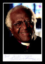 Bishop Desmond Tutu  Foto Original Signiert ## BC 103699
