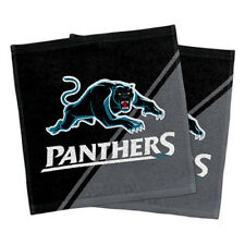 Penrith Panthers NRL Face Washer set of 2 Towel Washcloth Flannel Christmas Gift