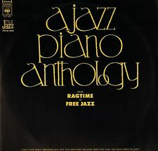 A JAZZ PIANO ANTHOLOGY from ragtime to free jazz S2VL 1006 DOUBLE LP PS EX+/EX