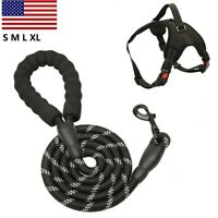 Olive Paracord Training Lead Short Control Dog Leash Heavy Duty ~ Orange