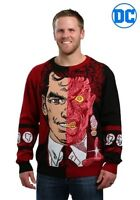 MEN'S TWO-FACE PULLOVER SWEATER SIZE X-LARGE UGLY CHRISTMAS