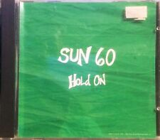 SUN 60 Hold On CD with Special Live Version Demo Promo from Epic 53447 Album