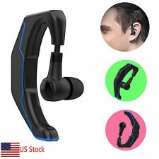 Wireless Bluetooth Headset Ear Hook Earphone In-ear Earbuds for Samsung Note 8 5