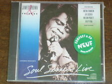 JAMES BROWN Soul session live CD NEUF