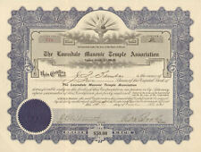 Lawndale Masonic Temple > Chicago IL stock certificate