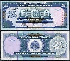 HAITI 25 Gourdes 2000 2009 Pick 266 d  SC  /  UNC