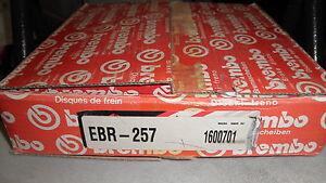 Brembo Vented Ft.Brake Rotor 85-89 German Ford/Mercury Merkur XR4Ti ITM#16-00701
