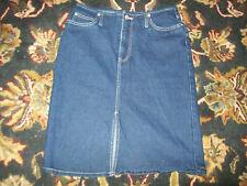 Lazer Dark Denim Short Skirt Size 9 5 Pocket vintage