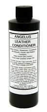ANGELUS LEATHER CONDITIONER & CLEANER Lotion Boot Shoe & Exotic CREAM 8oz 215-08