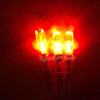 6PCS Shooting Automatically Led Lighted Nock Compound Bow Arrow Nock 6.2mm