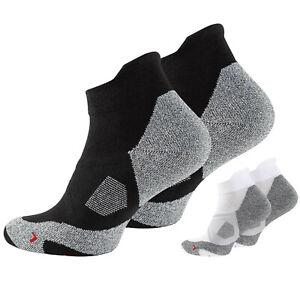 2 Paar Unisex Sportsocken kurz, Sneakersocken, Funktionssocken, von STARK SOUL®