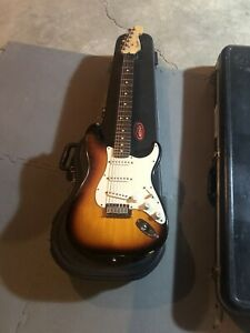1992 Fender American Standard Stratocaster. Tobacco Sunburst
