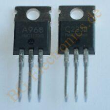 2 x 2SC2238 & 2SA968 4 komplementäre Transistoren 25W 60V 60V 1,5A P TO-220 4pcs
