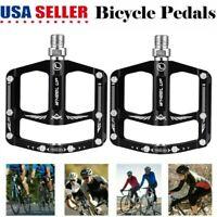 "Atomlab Genetal Issue Platform Pedals 9//16/"" Chromoly Spindles Bike Bicycle"