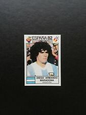 World Cup España 82 Maradona Argentina Number 176 With Original Back New