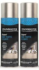 2 Stainmaster CARPET HIGH TRAFFIC CLEANER Removes Ground-in Dirt Spray 22 oz