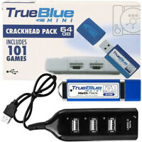 True Blue Mini Fight/Meth/Crackhead Pack for PlayStation Classic Games 32Gb 64Gb