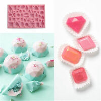 DIY Chocalate Fondant Tools 3D Jewel Diamond Mold Decorating Cake Silicone Mould