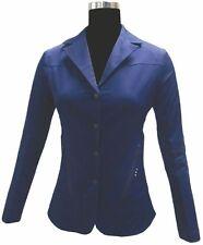 Equine Couture Fiona Hunt / Show Coat - Ladies - Black & Navy - Diff Sizes -SALE