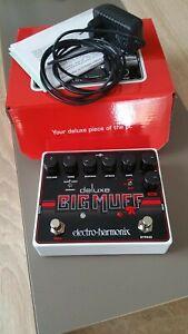 Distortion, Fuzz ,Overdrive-Pedal. Electro-Harmonix Big Muff Deluxe Pi,