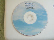 Windows 7 install disk all versions
