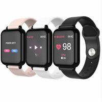 Bluetooth SMART Watch Heart Rate & Blood Pressure Monitor Sport Fitness Tracker