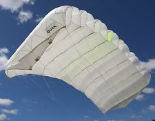Quick 180 skydiving parachute reserve canopy - 7 cell - F111 - mint shape