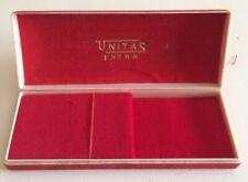 Scatola UNITAS EXTRA Vintage Watch Box 13.5 cm