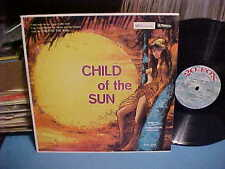 TROPICS FOLK SONGS ALBUM CHILD OF SUN SONGS TORRID ZONE NINA DOVA NUDE ART COVER