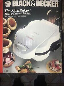 New Black & Decker The Shell Baker Meal & Dessert Maker Shellbaker Model G400