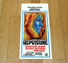 REPULSIONE locandina poster Catherine Deneuve Roman Polanski Repulsion AJ35