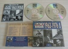 BOX 2 CD ALBUM BLACK & BLUE THE STORY OF VOL 1 1963 1976 BLUES 31 TITRES 1994