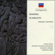 NEW - Handel: Italian Cantatas by WATTS / ENGLISH CHAMBER ORCH / LEPPARD