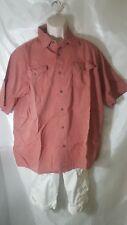 Lee Men's Button-up Short Sleeve Shirt, size 2XL,