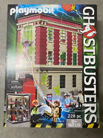 GHOSTBUSTERS FIREHOUSE fire headquarters playmobil 9219 NEW playmobile sealed