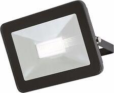 Knightsbridge LED Negro Delgado Foco de Seguridad 50W IP65 Metálico Aluminio