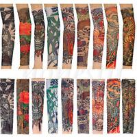 Nylon Kids Temporary Tattoo Sleeves Arm Stockings Tatoo Punk Cool Child Unisex