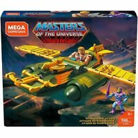 Mega Construx Masters Of The Universe Wind Raider Attack 198pc Set He-Man NEW
