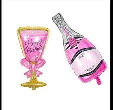 LARGE 100CM 3FT CHAMPAGNE ALCOHOL BALLOON BACHELORETTE PARTY BIRTHDAY