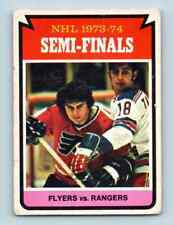 1974-75 O-Pee-Chee Philadelphia Vs Ny Rangers #213