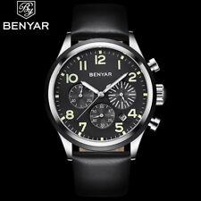 BENYAR Watches Men Luxury Brand Quartz Wristwatch Fashion Chronograph Sport