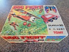 DOG FIGHT HANDHELD TABLETOP TOMY LSI 3D GAME 1983 NEW OLD STOCK RARE JAPANESE