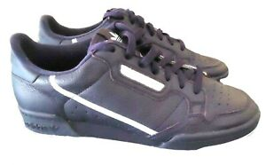 Adidas Continental 80 Size 9 Walking Sneakers Shoes  Purple