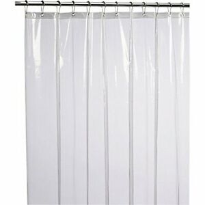 PEVA Mildew Free Anti-Bacterial Shower Curtain Liner Home Fashion Designs