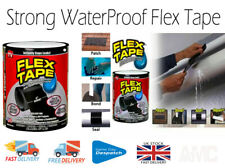Strong Water Proof Flex Tape Rubberised Seal Instant Stop Leakage + UK Seller