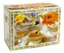 2 BOXS Instant Ginger Drink Thai Herbal No Sugar Free Added Meal Tea Drinks