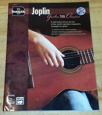 Joplin Guitar Tab Classics Song Book With Cd