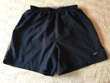 Men's Nike Shorts Size Medium M Black Dri Fit Running Gym Short