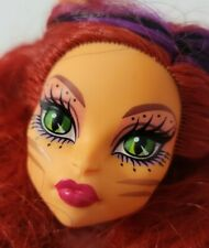 MONSTER HIGH DOLL FREAK DU CHIC TORALEI STRIPE HEAD ONLY FOR REPLACEMENT OR OOAK