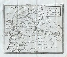 1779 Ancient Syria Phoenician River Antique Map Cellarius